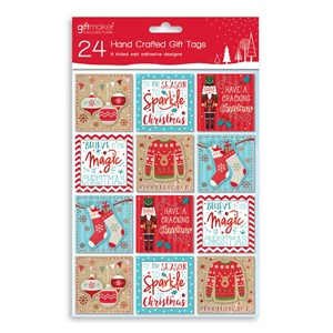 """24 Hand Crafted Gift Tags"""