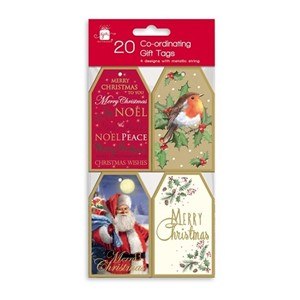 """Elegant Traditions"" 20 Gift Tags"