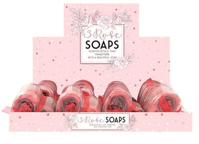 """3 Pieces Sented Soap Roses"""