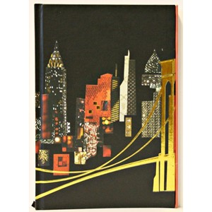 """Spirit New York"", A5 Cased Notebook with Ma"