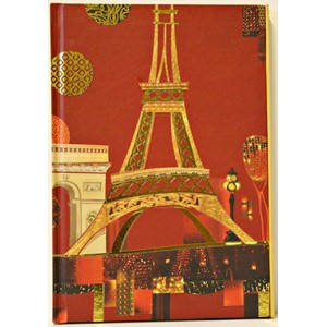 """Spirit Paris"", A5 Cased Notebook with Magne"