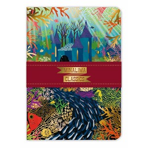 """Mermaid Palace"" A5 Luxury Notebook"