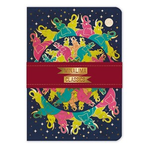 """Elephants"" A5 Luxury Notebook"