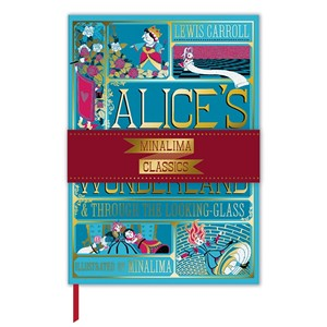 """Alice Book Cover"" Deluxe Journal"