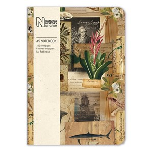 """Captain Cook's Scrapbook"" A5 Luxury Notebook"