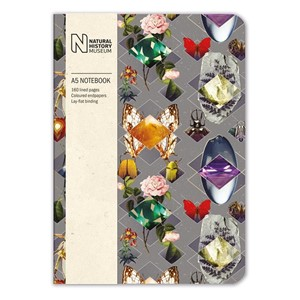"""Beetles and Jewels"" A5 Luxury Notebook"