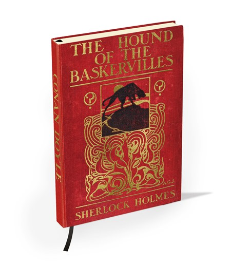 """The Hound of the Baskervilles by S. Holmes"" British Library"