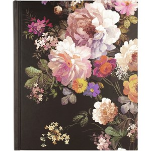 """Midnight Floral"" Oversize Journal"