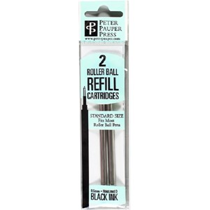"""Write Stuff Pen Refill"" 2 stk. 0,5 mm roller ball Sort"