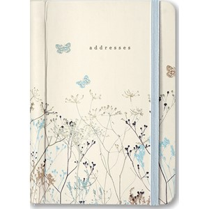 """Butterflies"" Adress Book"