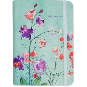 """Fuchsia Blooms"" Adress Book"