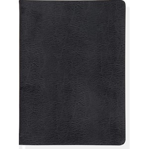 """Flanders Black"" Bonded Leather Journal"
