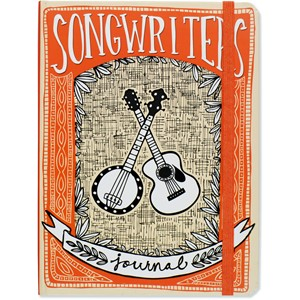 """Songwriter's Journal"" Mid-size Journals"