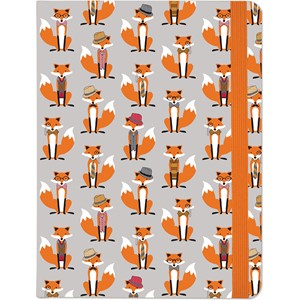 """Dapper Foxes"" Mid-size Journal"