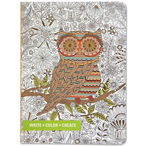 """Owl"" Mid-size Journal"