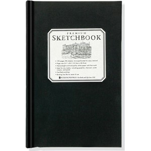 """Small Premium Sketchbook"""