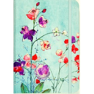 """Fuchsia Blooms"" Small Journal"