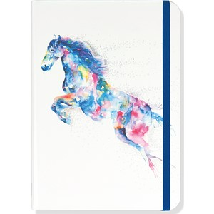 """Watercolor Horse"" Small Journal"