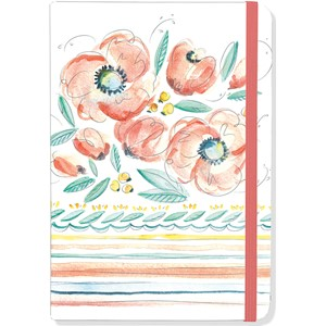"""Peach and Mint"" Small Journal"