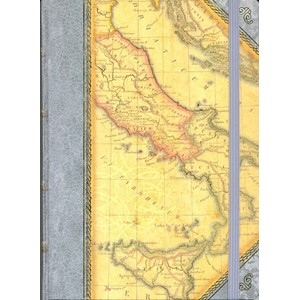 """Ancient Map"" Hardback Journal"