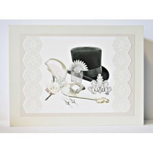 """Hat & Shoe"" Keepsake-box i tre"