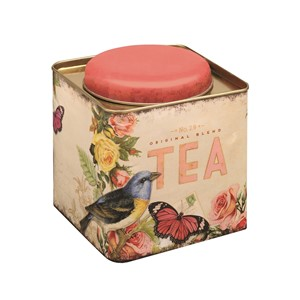 """Nostalgia"" Deep Square Tea Caddy"