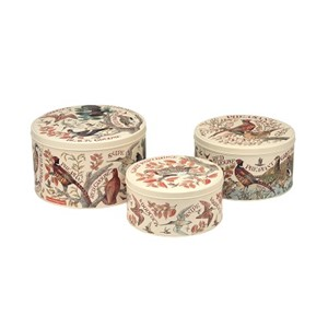 """Emma Bridgewater - Game Birds Set of 3 Round Cake Tins"""