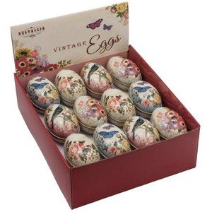 """Nostalgia Medium Eggs"", 4 assorterte, display a 24 stk."