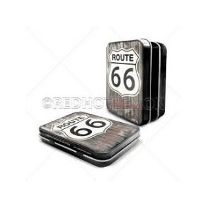 """Route 66 Wood"" Keepsake Tin"