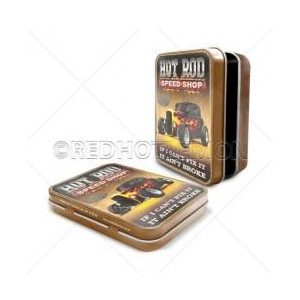 """Ford Hot Rod Speed Shop"" Keepsake Tin"