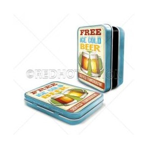 """Ice Cold Beer"" Keepsake Tin"