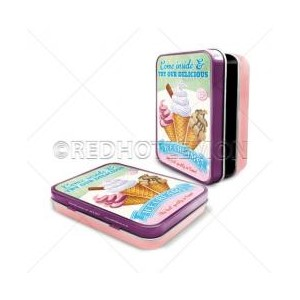 """Delicious Icecreams"" Keepsake Tin"