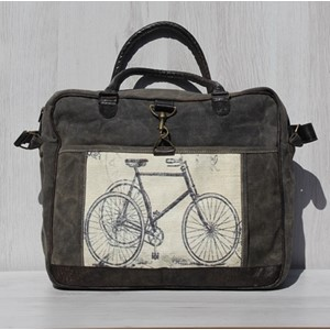 "Laptop Bag ""Bike Black/Wash"""