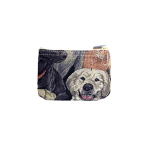 "Zip Coin Purse ""Labrador"""