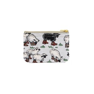 "Zip Coin Purse ""Sheep"""