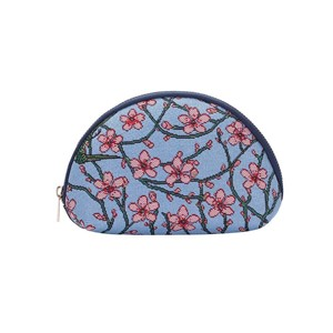 "Cosmetic Bag Premium ""Almond Blossom and Swallow"""