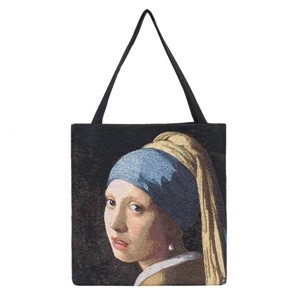 "Gusset Bag ""ART-JV-Girl with Pearl Earring"""