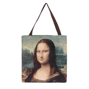 "Gusset Bag ""ART-da Vinci-Mona Lisa"""