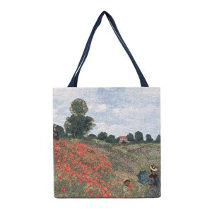 "Gusset Bag ""ART-Monet-Poppy Field"""