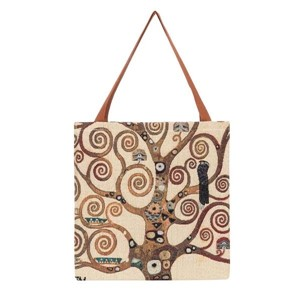 "Gusset Bag ""ART-Klimt- Tree of Life"""