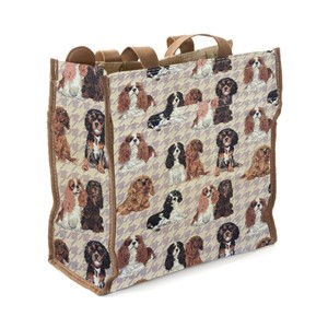"Shopper Bag ""Cavalier King Charles Spaniel"""