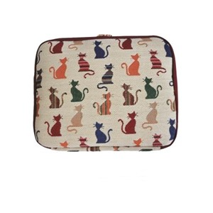 "Double Layer Ipad Organizer ""Cheeky Cat"""