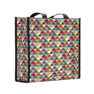 "Shopper Bag ""Multicolored Triangle"""