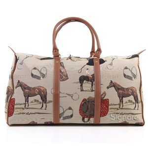 "Big Holdall Bag ""Horse"""