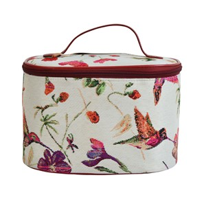 "Toiletry Case ""Humming Bird"""