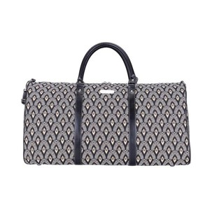 "Big Holdall ""Luxor Art Deco Style"" with strap"
