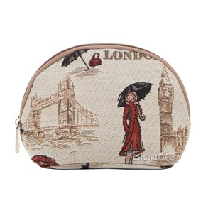 "Cosmetic Bag ""Miss London"""