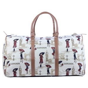 "Big Holdall Bag ""Miss London"""