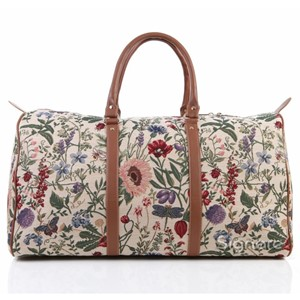"Big Holdall Bag ""Morning Garden"""