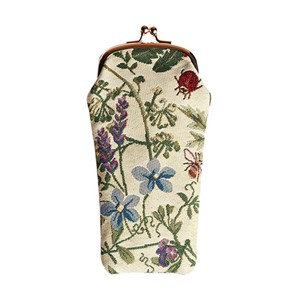 "Glasses Pouch ""Morning Garden"""
